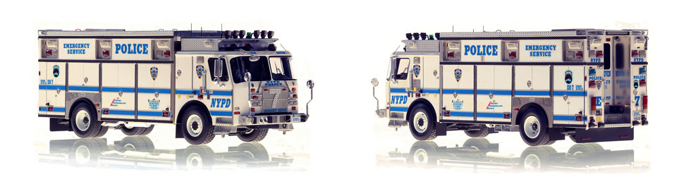 1:50 scale NYPD ESS 7 from Brooklyn