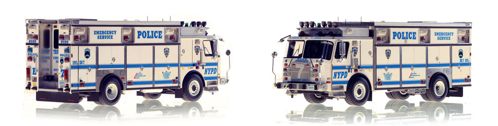 Brooklyn's NYPD ESS 7 scale model