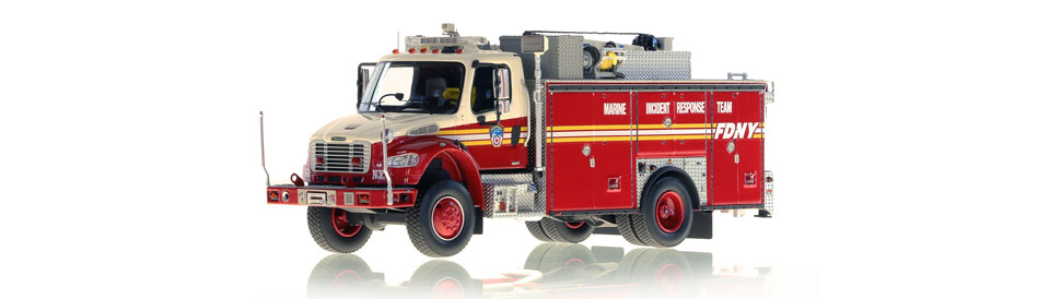 FDNY MIRT scale model is an authentic museum grade replica