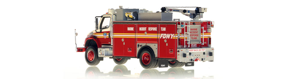 Only 250 units of FDNY MIRT have been produced