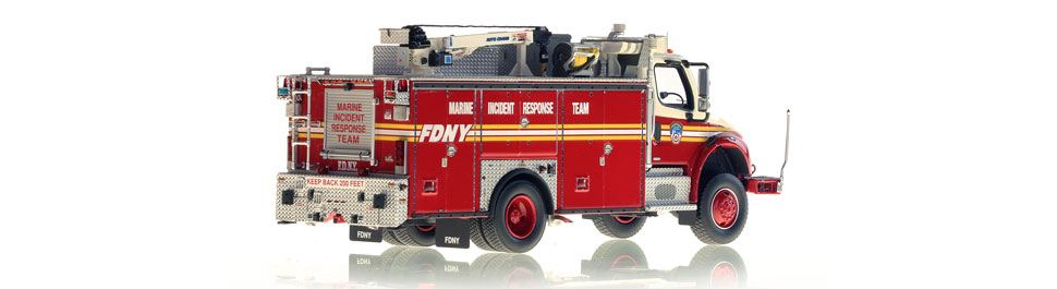 FDNY MIRT is hand-crafted from hundreds of parts