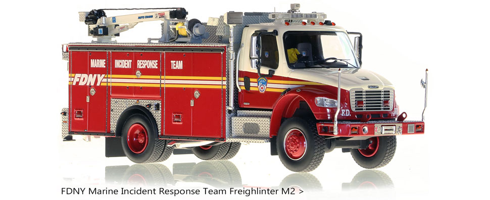 FDNY Marine Incident Response Team on Freightliner M2 Chassis