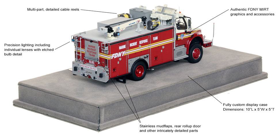 Order your FDNY MIRT scale model today!