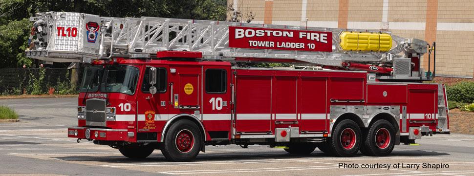 Boston Tower Ladder 10 courtesy of Larry Shapiro