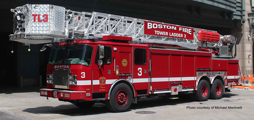 Boston Tower Ladder 3 courtesy of Michael Martinelli