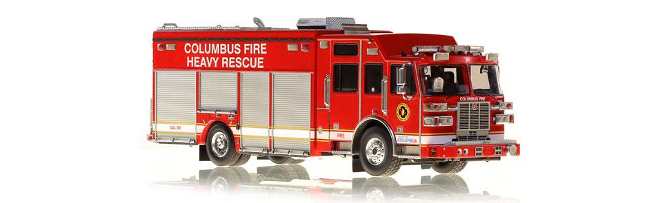 Repro Box Empire Made Straßenkreuzer Ambulance,Police Fire Chief