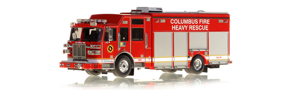 Columbus Heavy Rescue is an authentic, museum grade replica.