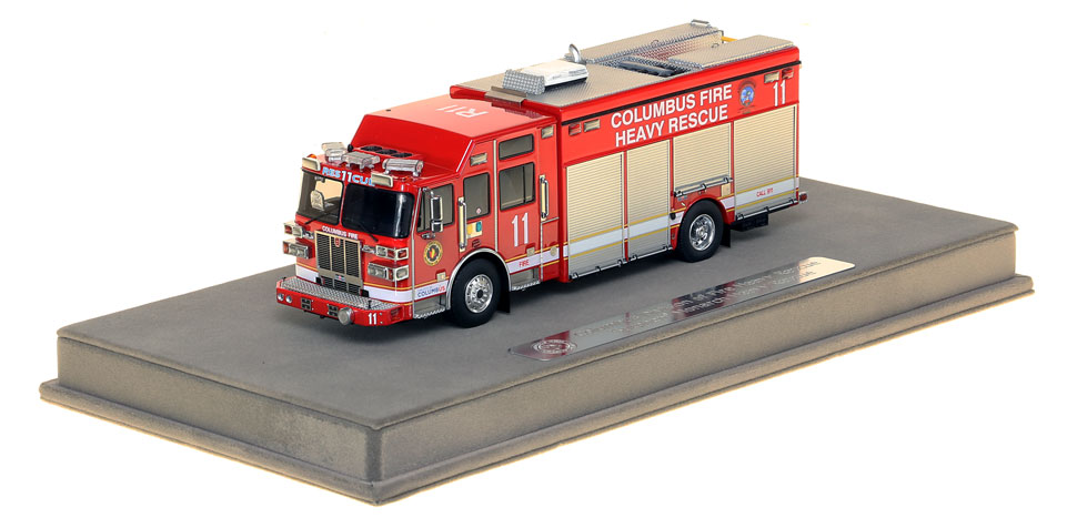 Columbus Division of Fire Sutphen Heavy Rescue 11 scale model