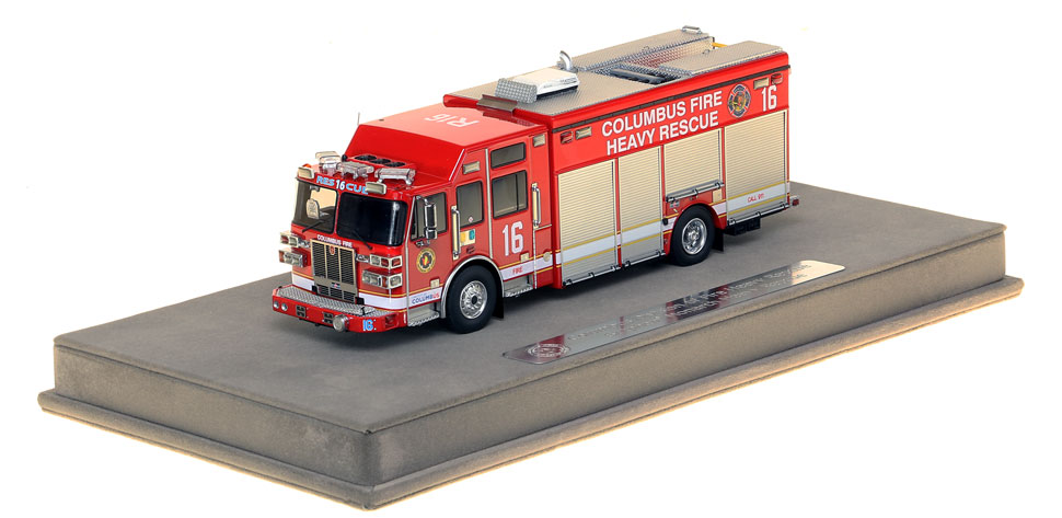 Columbus Division of Fire Sutphen Heavy Rescue 16 scale model