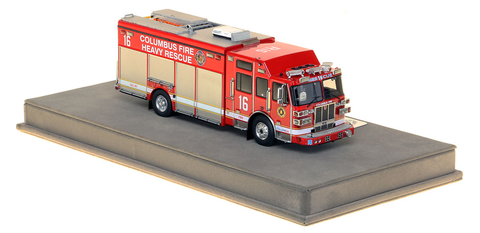 Columbus Heavy Rescue 16 is an authentic, museum grade replica.