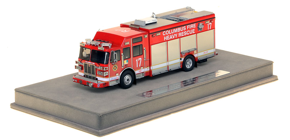 Columbus Division of Fire Sutphen Heavy Rescue 17 scale model