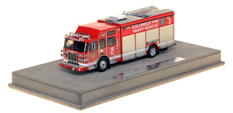 Columbus Division of Fire Sutphen Heavy Rescue 2 scale model