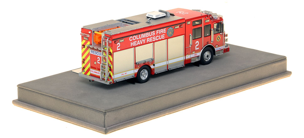 Columbus Heavy Rescue 2 features over 430 intricately detailed parts.