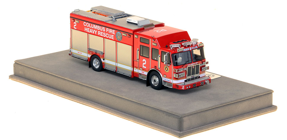 Columbus Heavy Rescue 2 is an authentic, museum grade replica.