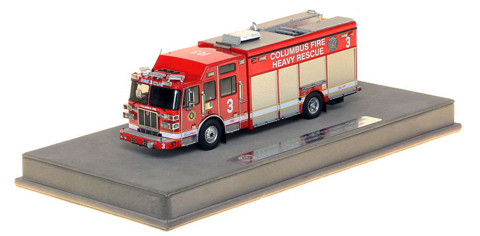 1:50 scale museum grade replica of Columbus Division of Fire Rescue 3