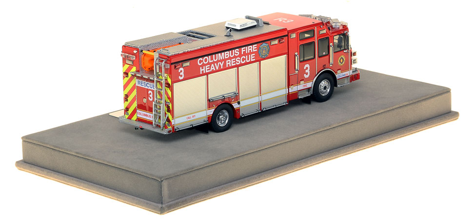 Columbus Heavy Rescue 3 features over 430 intricately detailed parts.