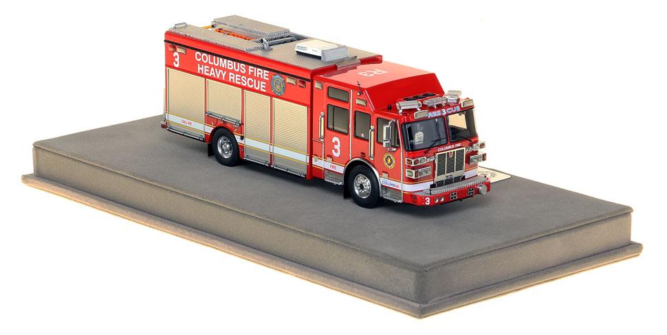 Columbus Heavy Rescue 3 is an authentic, museum grade replica.
