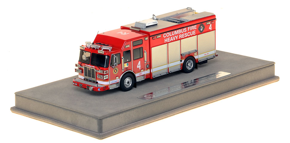 The first museum grade scale model of Columbus Rescue 4