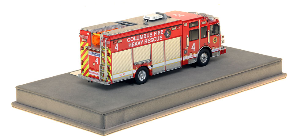 Columbus Heavy Rescue 4 features over 430 intricately detailed parts.