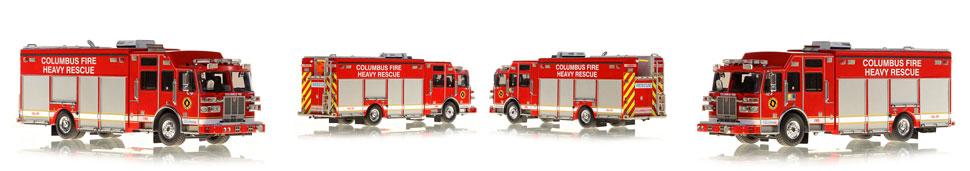 1:50 Columbus Heavy Rescue scale model