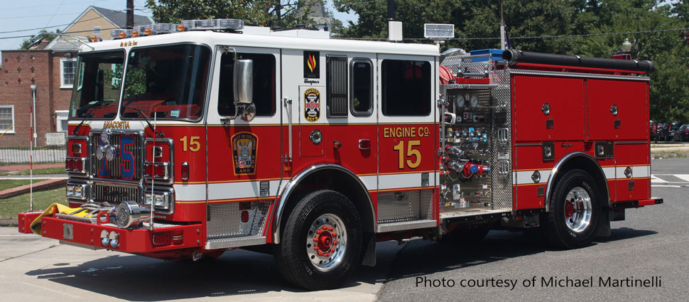 DC Fire & EMS Engine 15 courtesy of Michael Martinelli