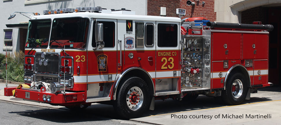 DC Fire & EMS Engine 23 courtesy of Michael Martinelli