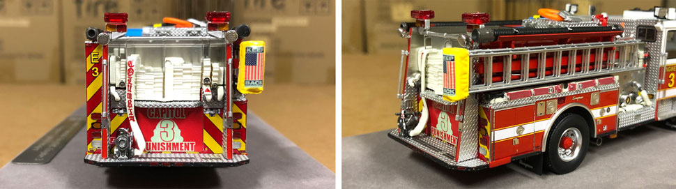 Close up images 3-4 of DC Fire & EMS Engine 3 scale model
