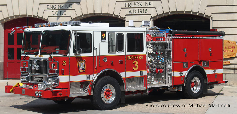 DC Fire & EMS Engine 3 courtesy of Michael Martinelli