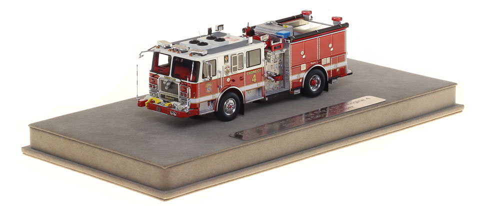 DC Fire Engine 4 includes a fully custom display case.
