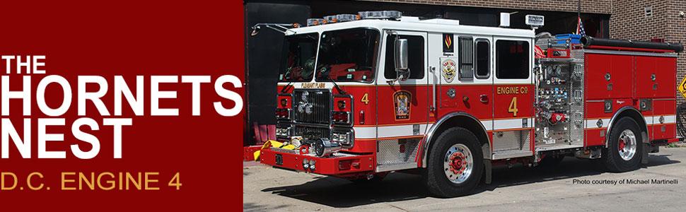 Washington D.C. Fire & EMS Engine 4
