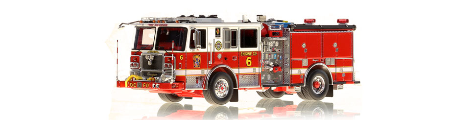 The very first museum grade replicas of DC's Seagrave Capitol Pumper Engine 6