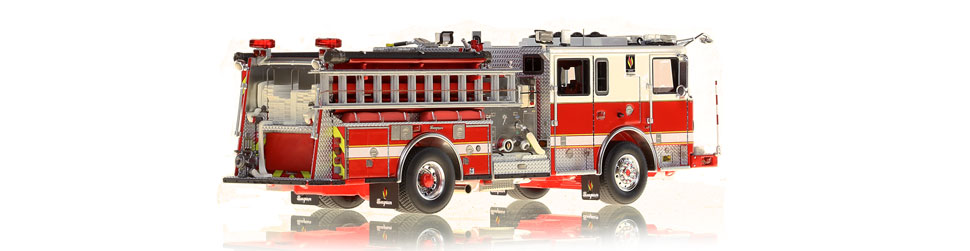 Seagrave Capitol Pumper replica is limited to 50 units