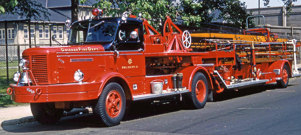 Chicago Fire Department H&L 33 - FWD Tractor Trailer