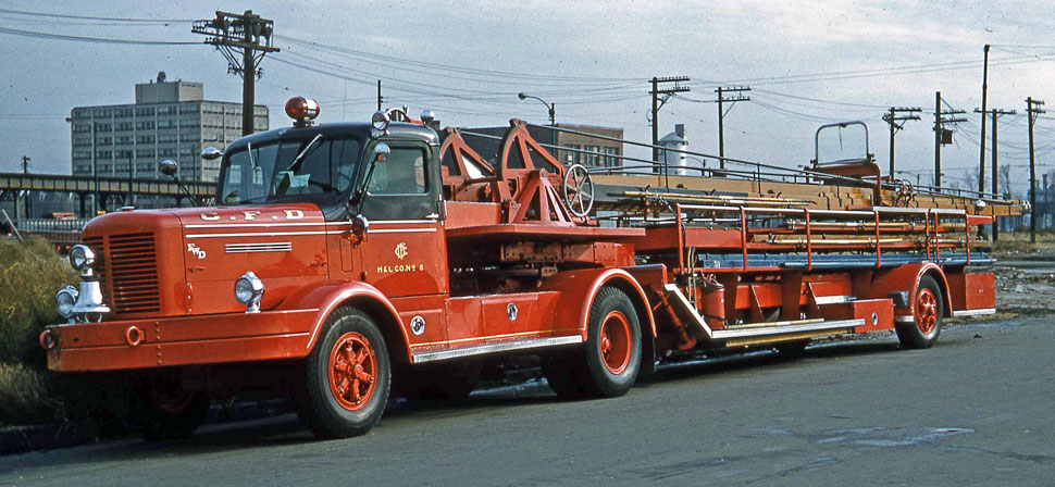 Chicago 1954 FWD Tractor Drawn Aerial H&L 8