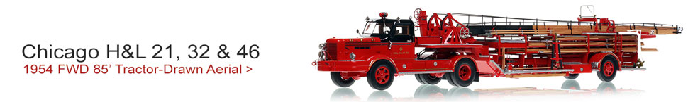 Take home a piece of Chicago firefighting history...1954 FWD 85' Tiller