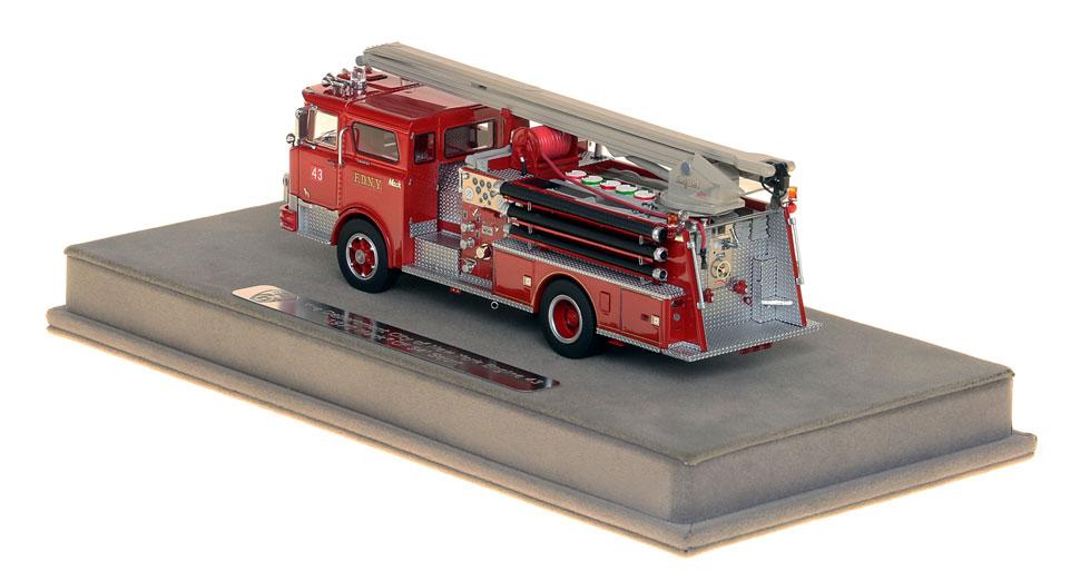 The FDNY Mack CF Squrt includes a custom case!