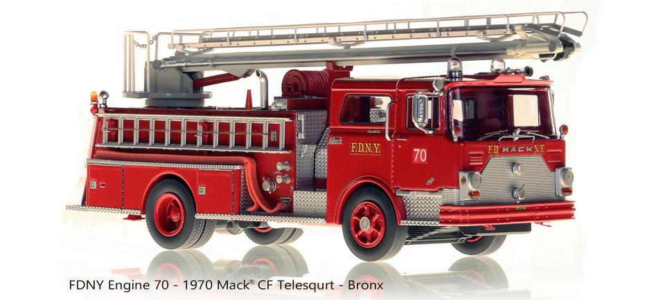 Order your 1970 Mack CF Telesqurt Engine 70 scale model!