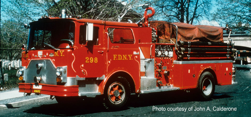 FDNY Engine 298 courtesy of John A. Calderone