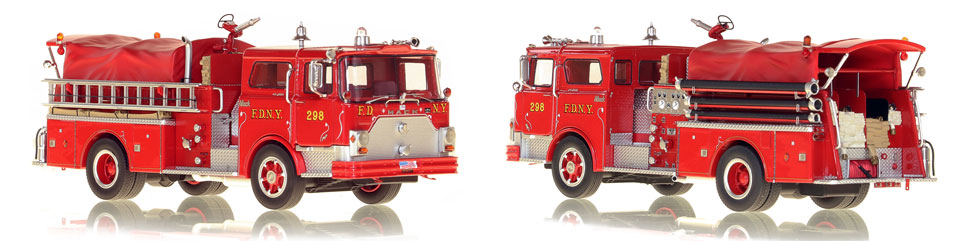 Take home a classic Mack...FDNY's 1970 Mack CF Engine 298 from Queens