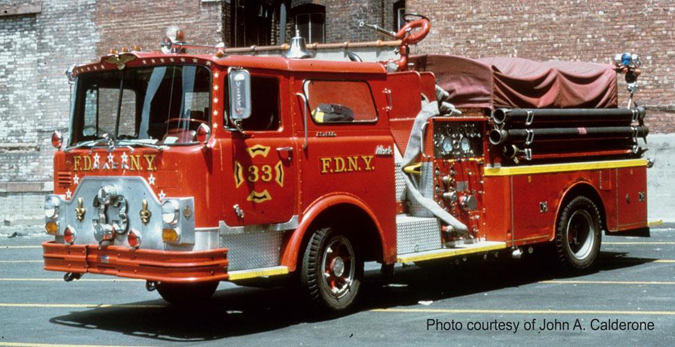 FDNY Engine 33 courtesy of John A. Calderone