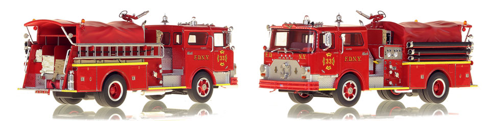 Take home a classic Mack...FDNY's 1970 Mack CF Engine 33
