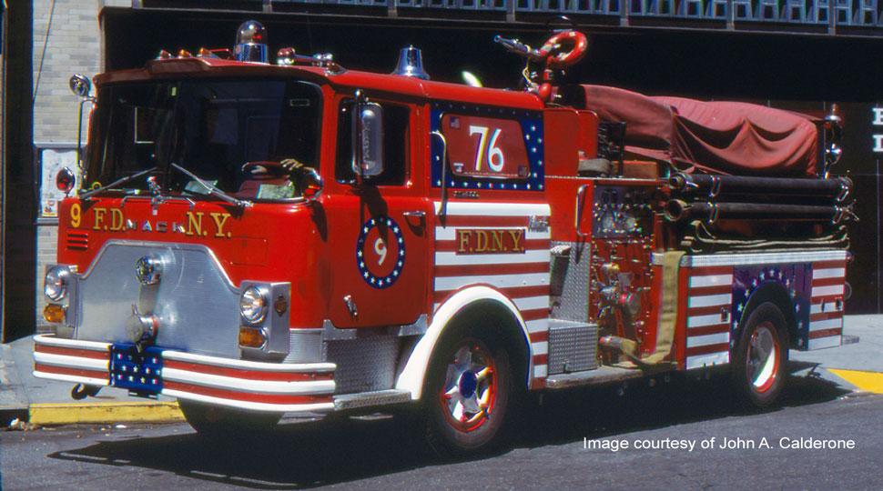 FDNY Engine 9 courtesy of John A. Calderone