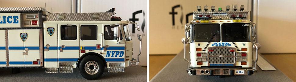 Closeup pics 1-2 of NYPD ESS 11 scale model