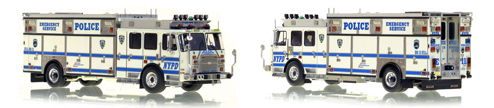 NYPD ESS 11 scale model