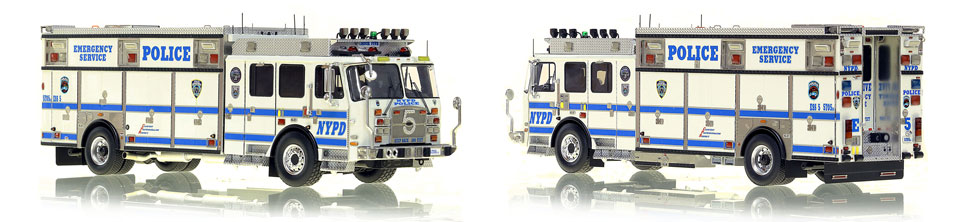 NYPD ESS 5 scale model