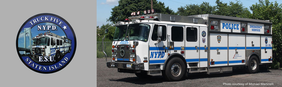 Order your NYPD ESS 5 scale model today!