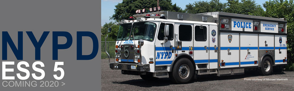 NYPD ESS 5 scale model coming in 2020!