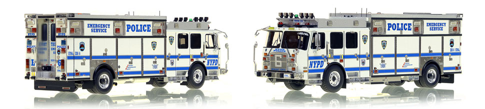 NYPD ESS 6 scale model