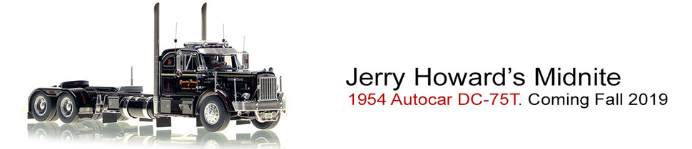 Jerry Howard's Autocar DC-75T coming in 2019!