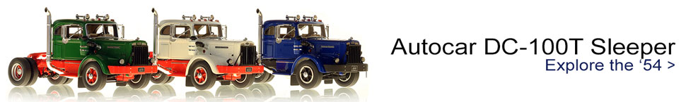Order your 1954 Autocar DC-100T scale models!